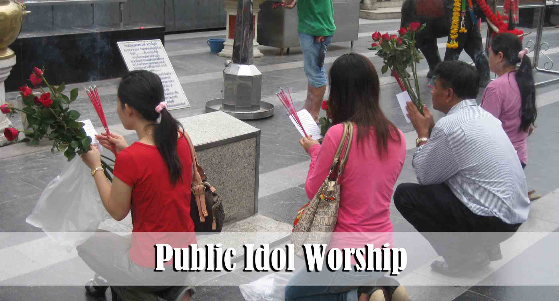 thoughts on idol worship essay Essays - largest database of quality sample essays and research papers on idol worship  he continues to come back to this thought throughout the book.