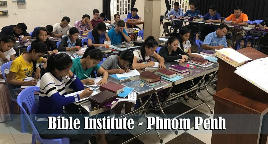 4.29.18 Bible Institute Phnom Penh Cambodia