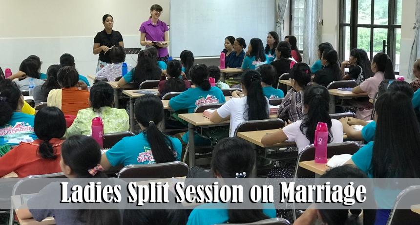 5.21.18 Family Camp ladies split session