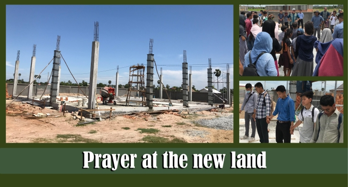 7.23.19 Prayer at the new land
