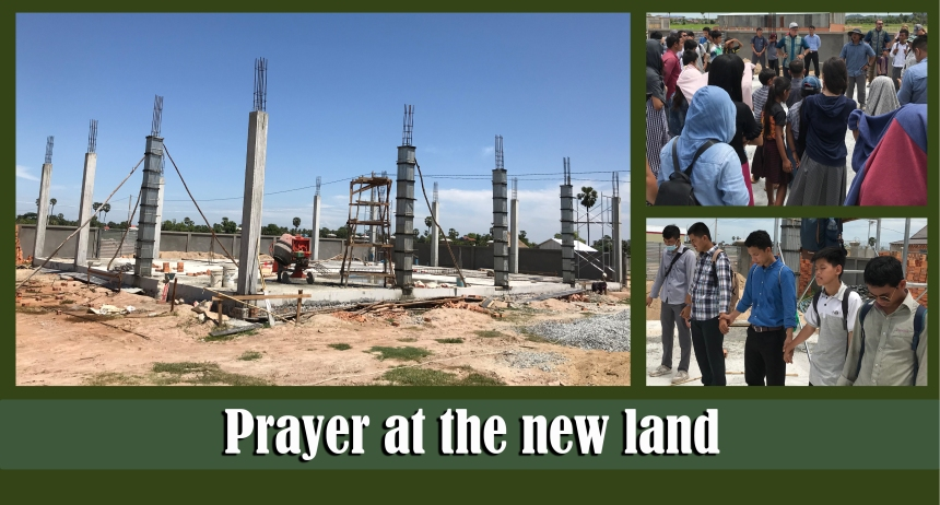 7.23.19 Prayer at the new land