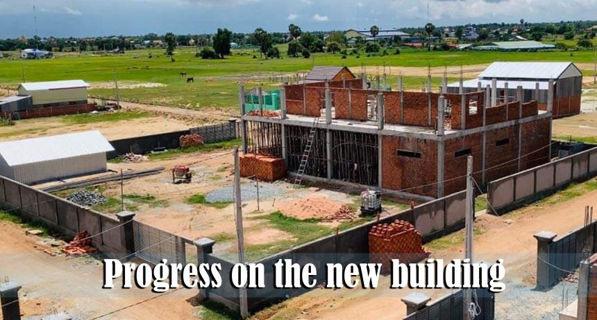 9.15.19 Progess on the new building