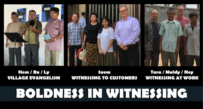 11.12.19 BOLDNESS IN WITNESSING